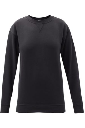 Lululemon All Yours Crew-neck Cotton-blend Jersey Sweatshirt - Womens