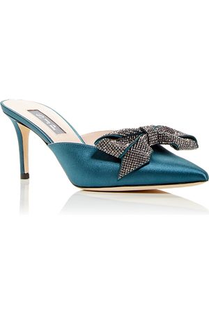 Sjp Women's Paley Embellished Pointed Toe Mules