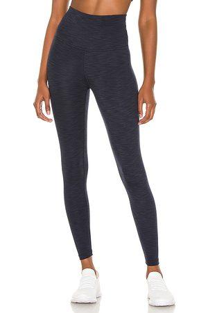 Beyond Yoga Women Leggings - Heather Rib High Waisted Midi Legging in .