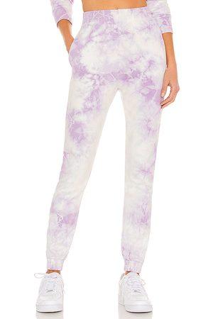 Frankies Bikinis Women Pants - X REVOLVE Aiden Sweatpant in Lavender.