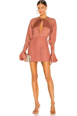 Michael Costello X REVOLVE Shandy Mini Dress in Blush.