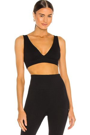 WeWoreWhat V Neck Bra Top in .