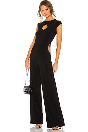 Norma Kamali Sleeveless Cut Out Jumpsuit in .
