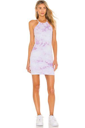 Frankies Bikinis X REVOLVE Christine Ribbed Mini Dress in Lavender.