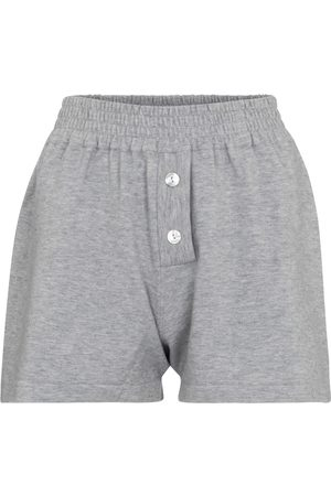 LIVE THE PROCESS Cashmere-blend shorts