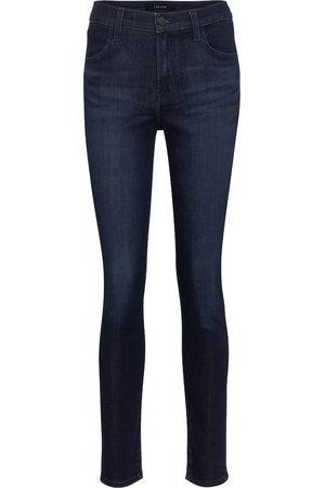 J Brand Women High Waisted - Maria high-rise skinny jeans