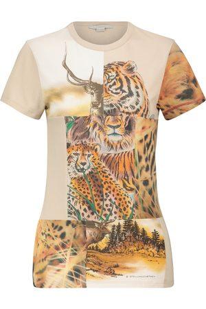 Stella McCartney Women Short Sleeve - Printed cotton T-shirt