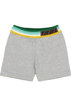 Fendi Baby cotton shorts