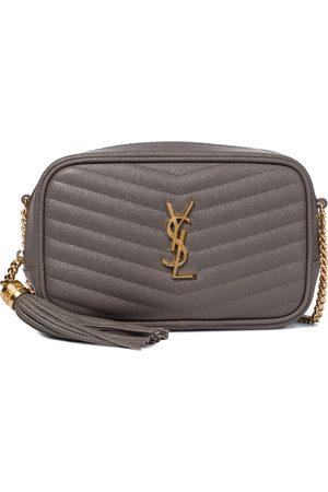 Saint Laurent Women Shoulder Bags - Lou Camera Mini leather shoulder bag