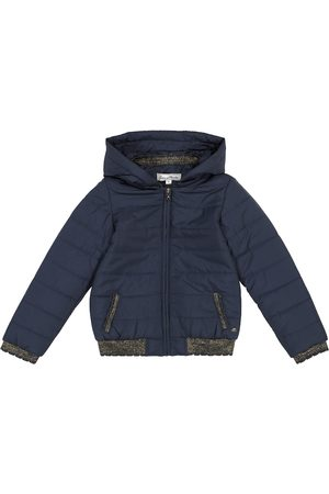 Tartine Et Chocolat Girls Jackets - Hooded quilted jacket