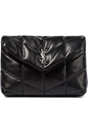 Saint Laurent Women Clutches - Loulou Puffer leather clutch