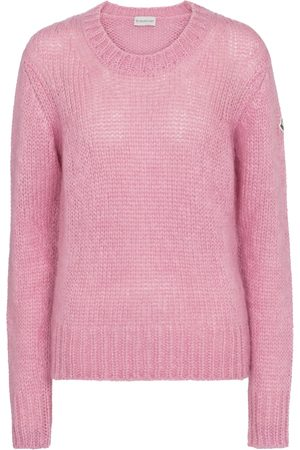 Moncler Women Sweaters - Mohair-blend sweater