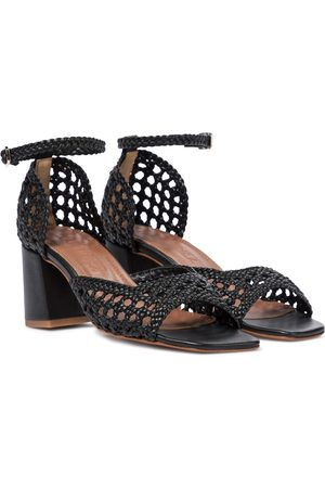 Souliers Martinez Procida 65 woven leather sandals