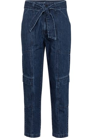 J Brand Women High Waisted - Athena cropped paperbag jeans