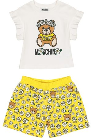 Moschino Baby stretch-cotton T-shirt and shorts set