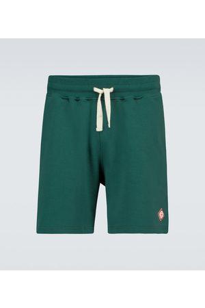 Casablanca Men Shorts - Cotton jersey shorts