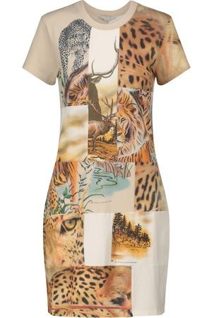 Stella McCartney Printed cotton-jersey minidress