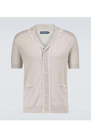 Frescobol Carioca Knitted cotton-silk cardigan