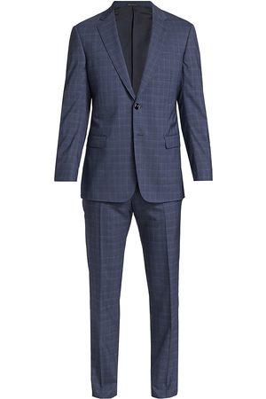 Armani Men Suits - Men's 2-Piece Wool Blend Suit - - Size 46