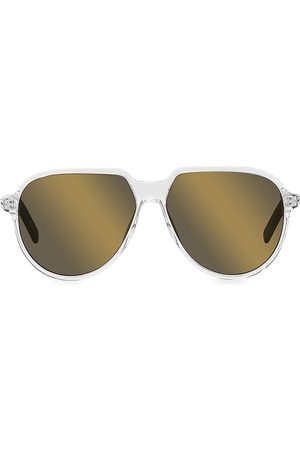 Dior Men Sunglasses - Men's Essential 58MM Pilot Sunglasses - Crystal