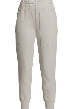 Heroine Women Pants - Women's Henley Sweatpants - Cement - Size Large