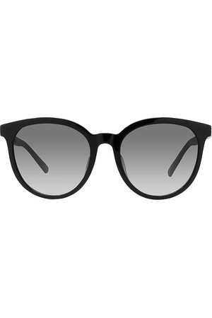 Dior Women Round - Women's 30Montaigne 57MM Round Sunglasses - Shiny Smoke
