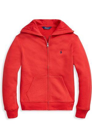 Ralph Lauren Boys Hoodies - Boy's Fleece Zip Hoodie - - Size 14