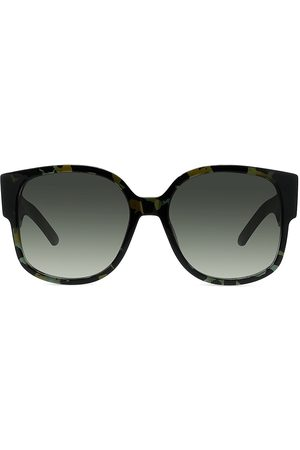 Dior Women's Wil 58MM Square Sunglasses - Havana
