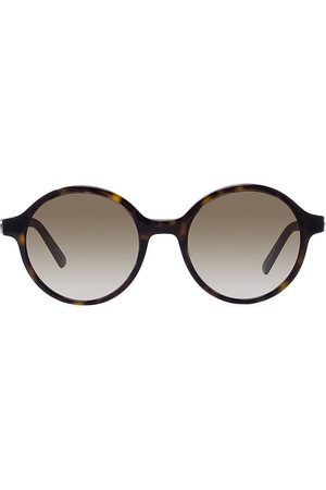 Dior Women's 30Montaigne 51MM Round Sunglasses - Dark Havana