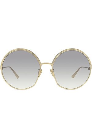 Dior Women Round - Women's Ever 61MM Round Sunglasses - Light Smoke