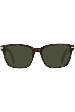 Dior Men Sunglasses - Men's BlackSuit 57MM Rectangular Sunglasses - Dark