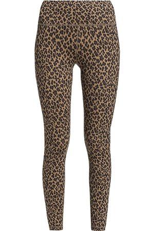 Varley Women's Century 2.0 Leopard Print Leggings - Coffee Cheetah - Size XL
