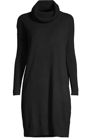 MINNIE ROSE Women Party Dresses - Women's Cashmere Cowl-Neck Dress - - Size Large