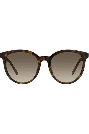 Dior Women Round - Women's 30Montaigne 57MM Round Sunglasses - Dark Havana