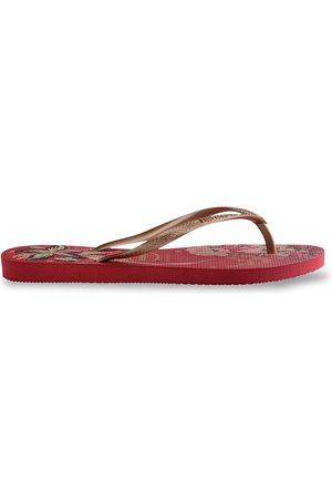 Havaianas Women's Slim Organic Flip Flops - Rose - Size 5