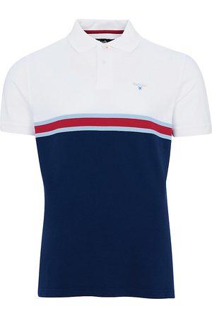 Barbour Men Polo Shirts - Men's Colorblock Polo Shirt - Multi - Size XL