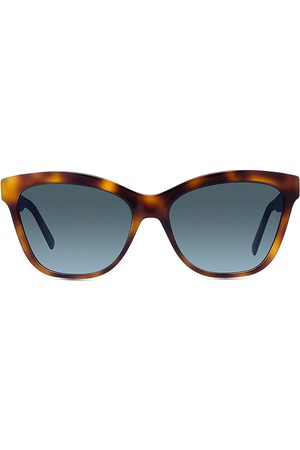Dior Women's 30Montaigne 56MM Cat Eye Sunglasses - Blonde Havana