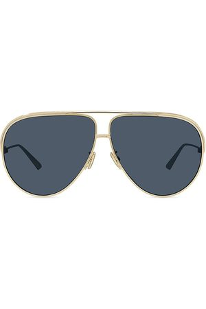 Dior Women Aviators - Women's Ever 65MM Aviator Sunglasses - Shiny