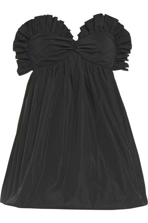 Serafini Woman Strapless Ruffle-trimmed Taffeta Mini Dress Size 42