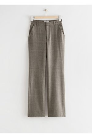 & OTHER STORIES Flared High Waist Trousers