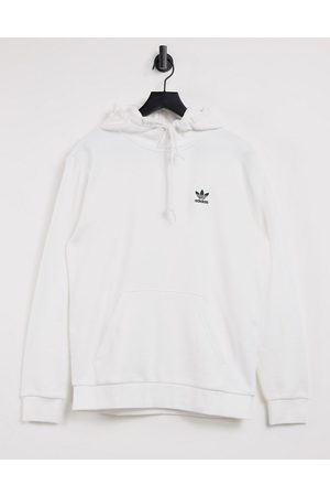 adidas Essentials hoodie in with small logo