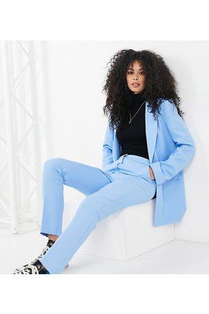 ASOS ASOS DESIGN Tall shrunken dad suit blazer-Blues