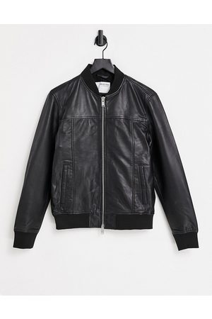 Selected Leather jacket in