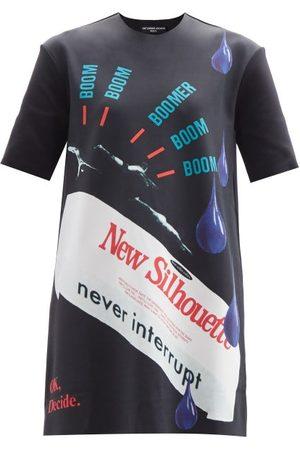 RAF SIMONS Women Short Sleeve - Ss14 Printed Neoprene Longline T-shirt - Womens