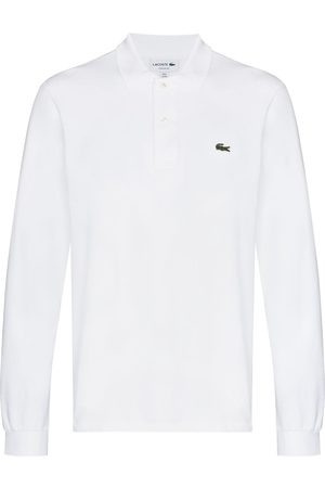 Lacoste Logo-patch long-sleeve polo shirt