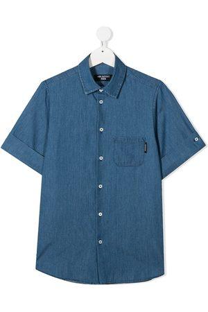 Neil Barrett TEEN graphic-print short-sleeved shirt