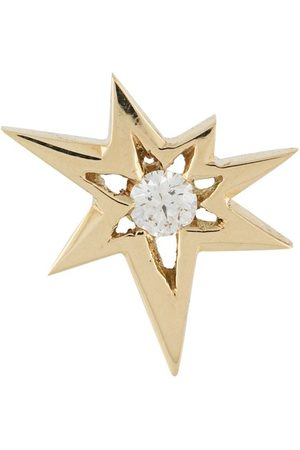 LE STER 18kt yellow diamond Bang right stud earring