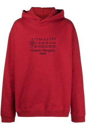 Maison Margiela Embroidered logo hoodie