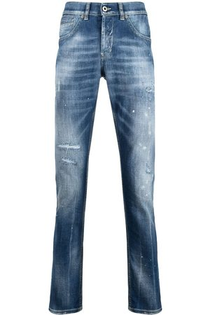 Dondup Men Straight - Distressed-effect jeans