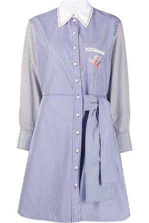 Chloé Pinstripe-pattern shirtdress